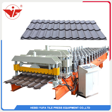 European style glazed tile roll forming machine